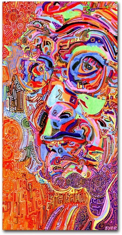 Trademark Fine Art Chairman of A 1966 Draft Board by Josh Byer, 10x19 Canvas Wall Art