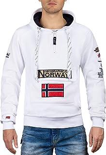 Geographical Norway Sudadera con Capucha para Hombre