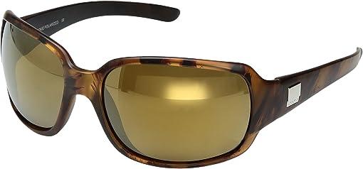 Mt Tortoise Backpaint/Polarized Sienna Mirror Polycarbonate Lens