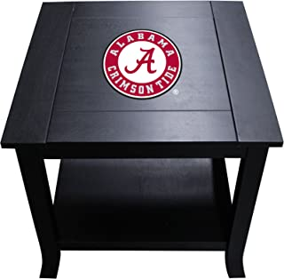 Imperial Officially Licensed NCAA Furniture: Hardwood Side/End Table