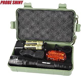 Koly 8000 lúmenes G700 X800 del CREE XM-T6 LED L2 zoom militar táctica de la linterna Set