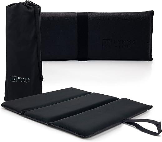 Premium Sitzkissen Outdoor - Exzellente Polsterung, Große Sitzfläche, Wasserabweisend - Langlebige Isomatte Outdoor inkl. hochwertiger Tasche -...