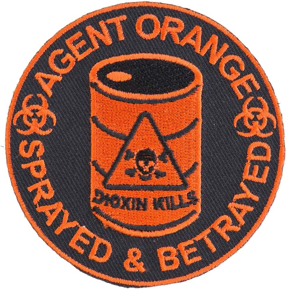 Agent Orange Sprayed and Betrayed inch. Patch Seattle Mall Max 67% OFF Embroidered 3x3 -