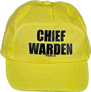 Fire Plan Strategies Chief Warden Hat