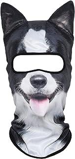 YOSUNPING 3D Animal Ears Face Mask Balaclava for Music Festivals Raves Ski Halloween