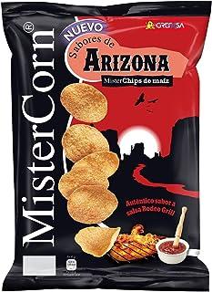 GREFUSA Mister corn sabores de arizona chips de maz bolsa 90 gr