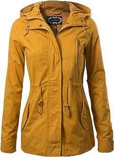 Women's Military Anorak Safari Hoodie Jacket
