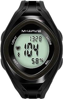 M-Wave Beat 30 Pulsómetro sin Cable, Unisex Adulto, Negro, Talla Única