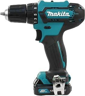"Makita DF333DWYE 12V Max CXT 3/8"" Taladro destornillador 1.5Ah Kit"