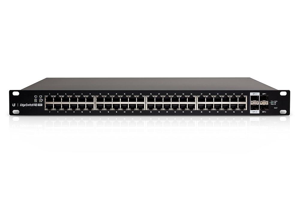 かご原点耐える【Amazon.co.jp 限定】Ubiquiti Networks Managed PoE+ Gigabit Switch with SFP+[Amazon限定品]ES-48-500W-A