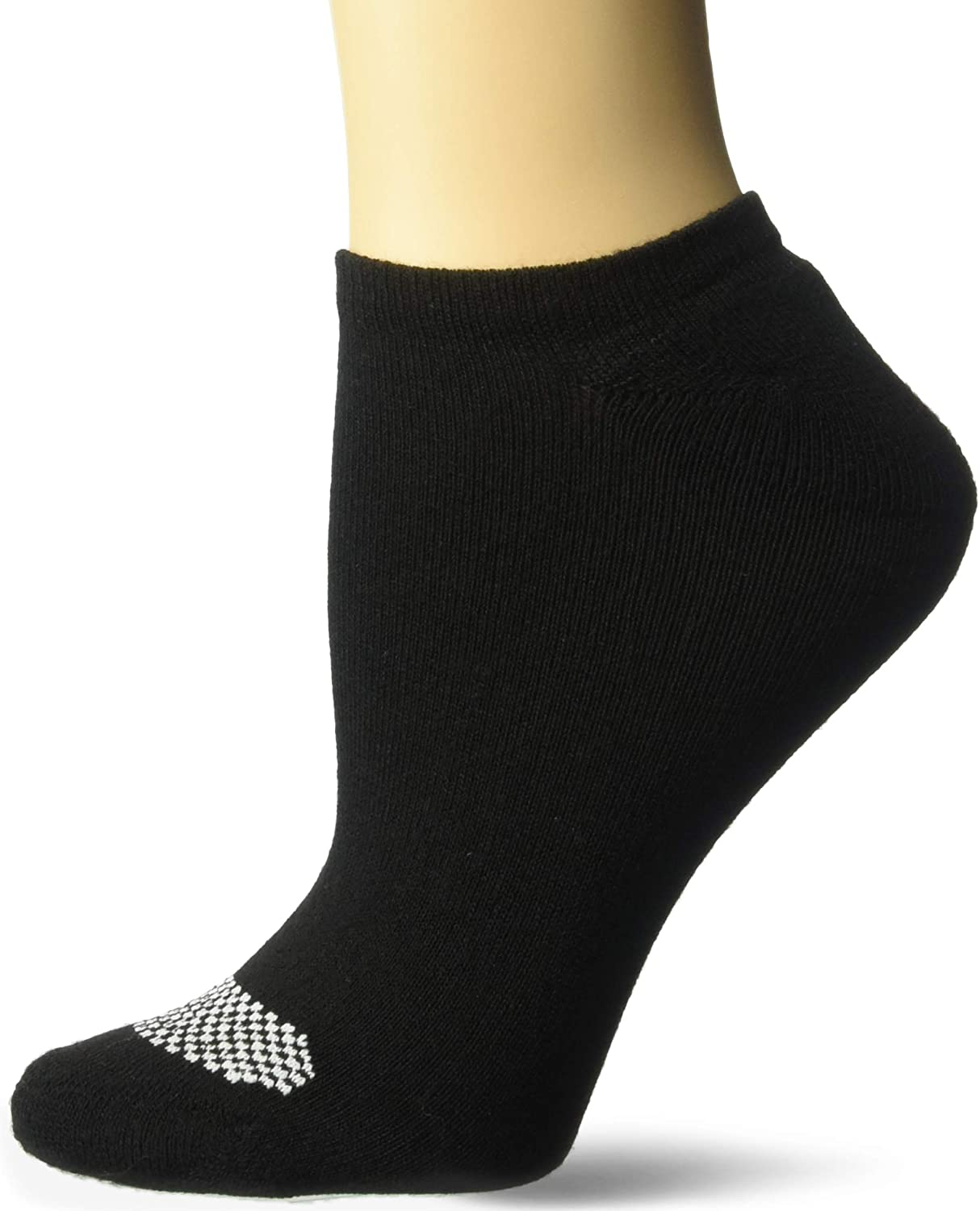 Hanes womens Cool Comfort Breathable Ventilation No Show Socks, 6-pair Pack