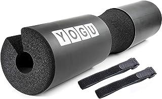 Barbell Squat Pad Neck and Shoulder Protective Pad w Ergonomic Balance Groove Thick Memory Foam Sponge Bar Squatting Cushi...