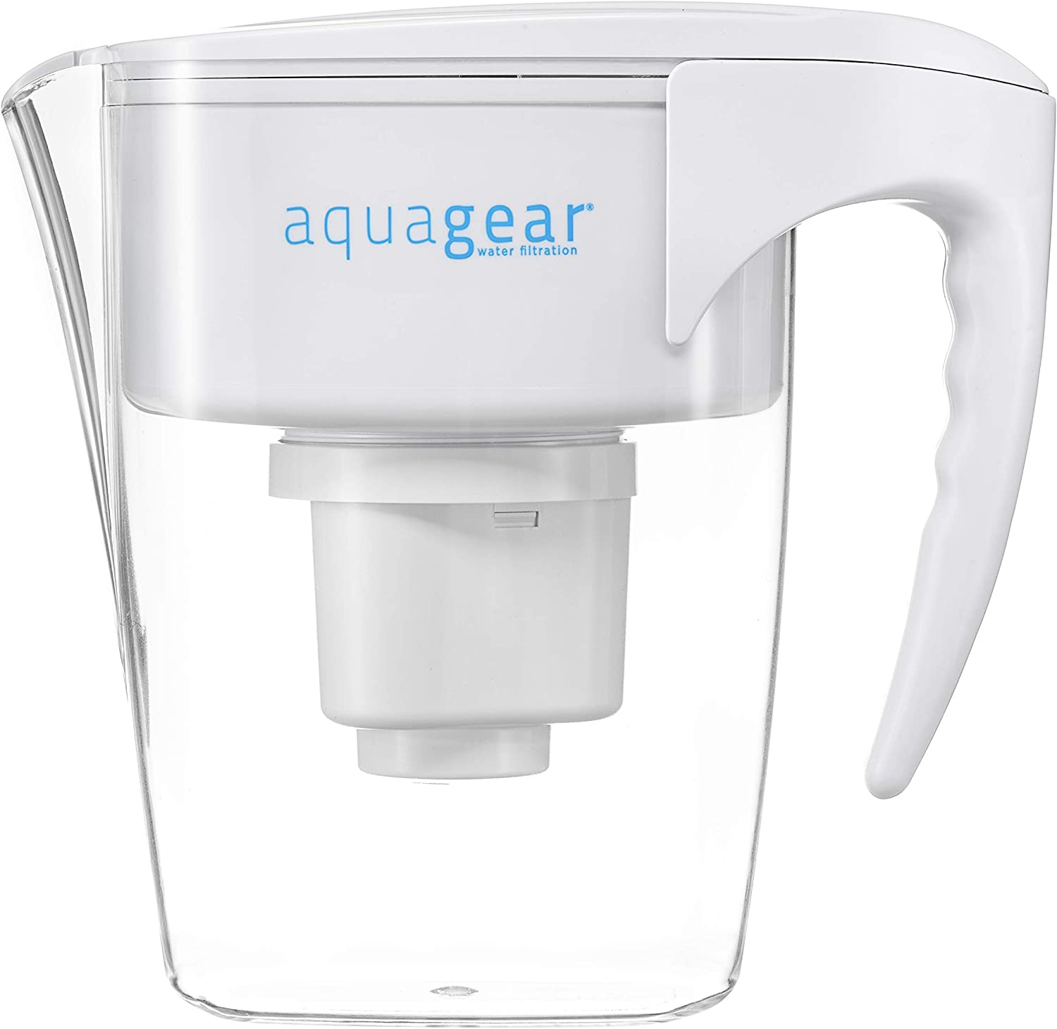 Aquagear Fluoride Water Filter Pitcher...