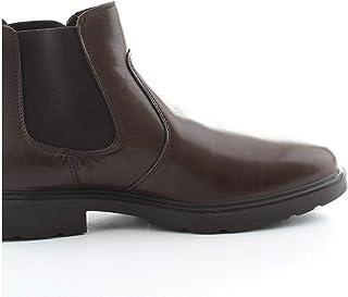 Luxury Fashion | Igi & Co Men 4100322TMORO Brown Faux Leather Ankle Boots | Autumn-winter 20