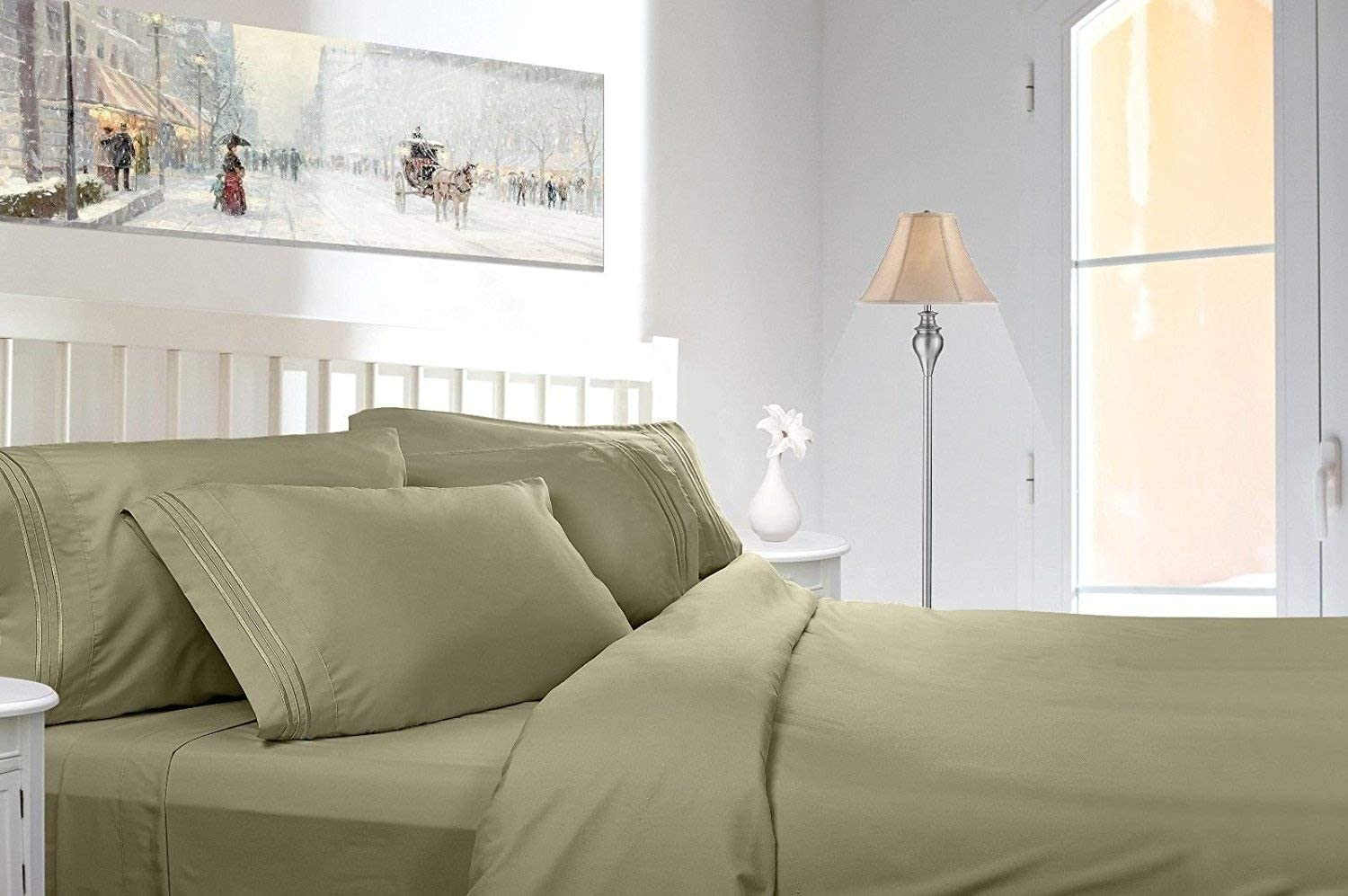 Royal In a popularity Collection 1900 Thread Count Quality 2021 model Bed Bamboo Set Sheet