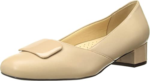 Trougeters Wohommes DELSE Pump, Nude, 7.0 W US