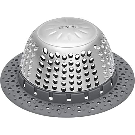 Bath sink hair//waste catcher ~  Mesh traps x2 ~ Stop blocked waste pipes