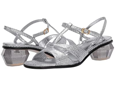 Marc Jacobs The Gem Sandal 40 mm (Silver) Women