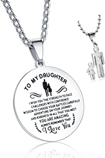 Best to my daughter i wish you the strength necklace Reviews