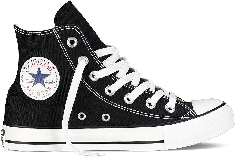 Converse Karmaloop The Chuck Taylor All Star Core Hi Sneaker Black (9.5 B(M) US, Black_Women Size)