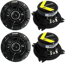"""4) Kicker 41DSC44 D-Series 4"""" 240 Watt 4-Ohm 2-Way Car Audio Coaxial Speakers photo"""