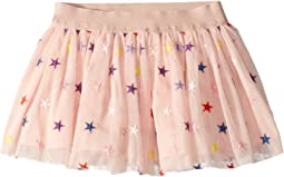 Embroidered Stars Tulle Skirt (Toddler/Little Kids/Big Kids)