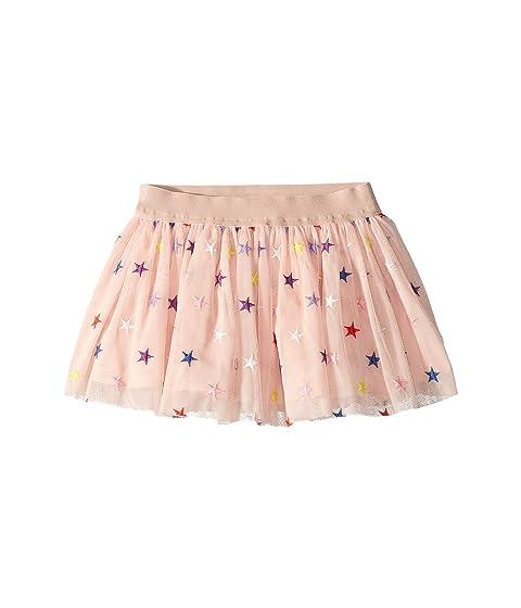 bac4334d4 Stella McCartney Kids Embroidered Stars Tulle Skirt (Toddler/Little Kids/Big  Kids)
