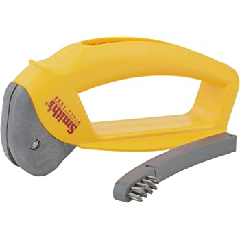 Smith's 50582 Axe & Machete Axe and Machete Sharpener, Standard, Yellow