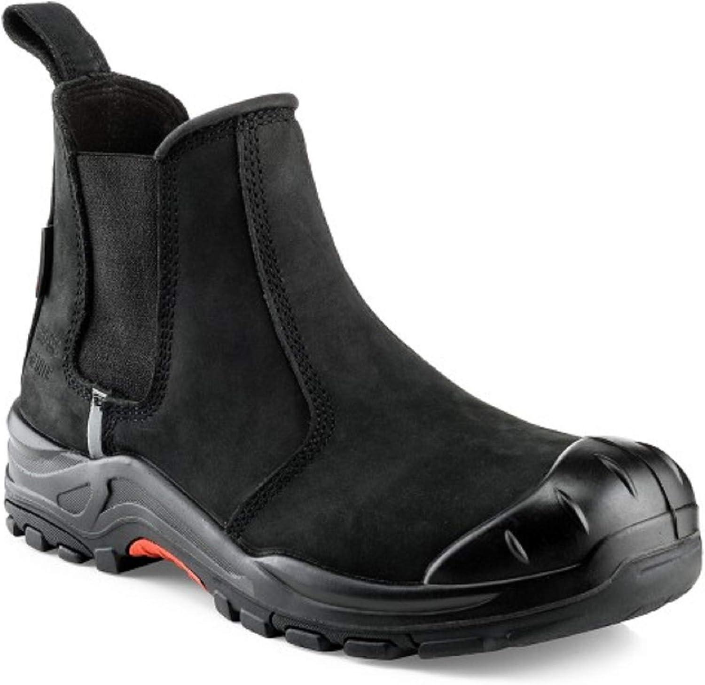 Buckler NKZ101BK Black Safety Dealer Boot