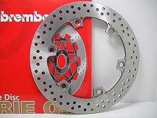 COPPIA 2 DISCHI FRENO ANTERIORI BREMBO C SPORT 600 2012  C GT 650 2012