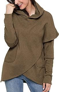 Best long sleeve asymmetric hem hoodie Reviews