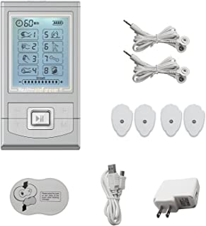 HealthmateForever TENS unidad Nk6Gl (negro) 6 modos dolor Otc sistema Mini masajeador Micro máquina unidad