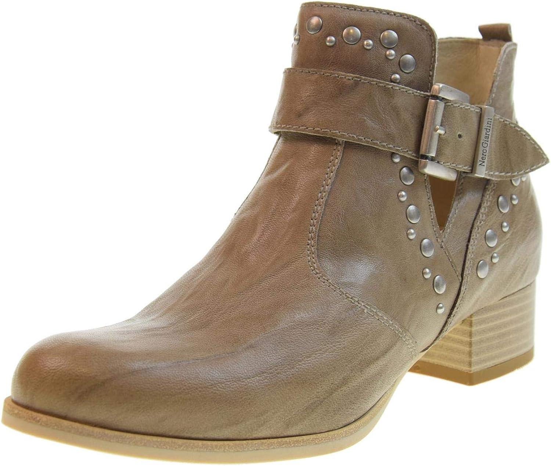 black GIARDINI women's shoes ankle boots P907662D   439
