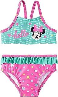 Dreamwave Infant Girls Minnie Mouse 2 Piece Bikini Swimsuit Pink