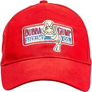 LACKINGONE Adjustable Bubba Gump Baseball Cap Shrimp Co. Embroidered Bend Brimmed Hat