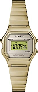 Timex Womens Quartz Watch, Digital Display And Stainless Steel Strap - TW2T48000