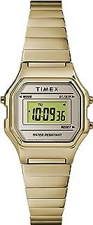 ساعة تايمكس للنساء كوارتز بشاشة رقمية و سوار من الستانليس ستيل - TW2T48000