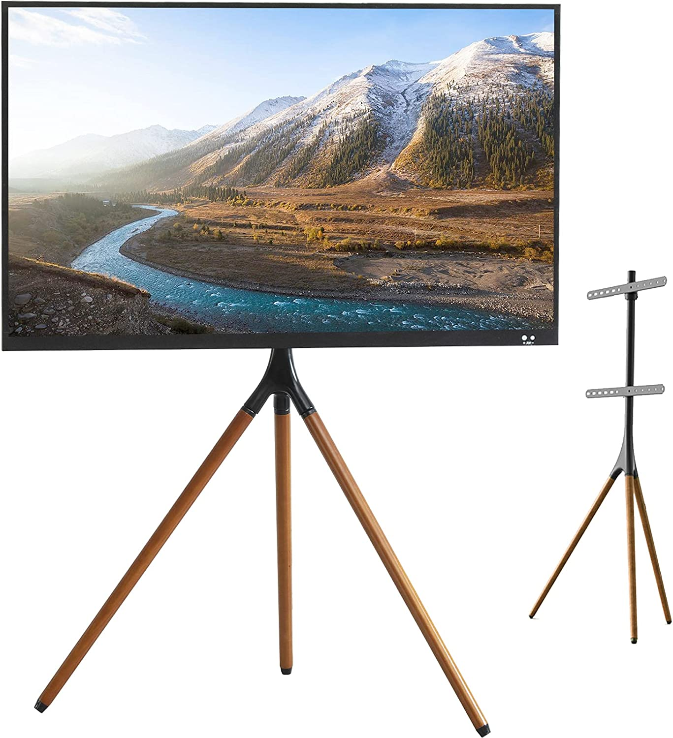 K Knowbody Tripod TV Display Height Spring new Max 69% OFF work Adjustable Floor Stand S