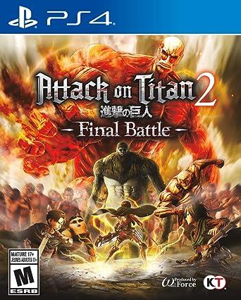 Attack On Titan 2: Final Battle - PlayStation 4