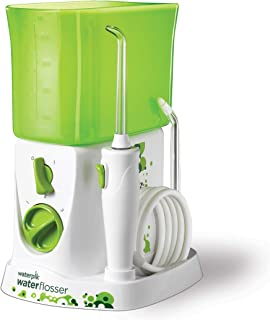 Waterpik Water Flosser for Kids, Countertop Water Flosser for Children and Braces, WP-260, Green