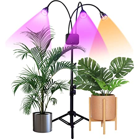 Grow Lights for Indoor Plants LED Floor Full Spectrum Plant Light with Stand