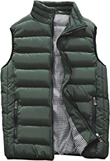Kondun ダウンベスト メンズ 中綿ベスト 立ち襟 無地 防寒 秋冬春用 ジャケット ベスト 10色7サイズ展開 MJ1718