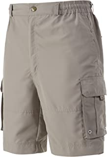 A.WAVE Outdoor Sports Lightweight Cargo Short Elastic Waist Flat Front Quick Dry