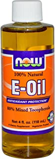 Now Foods, 100% Natural E-Oil, 4 fl oz (118 ml)