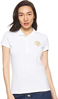 Tommy Hilfiger Women's Essential Slim Short Sleeve Polo