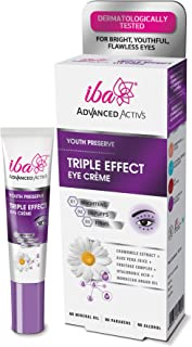 Iba Halal Care Advanced Activs Youth Preserve Triple Effect Eye Crème for Normal Skin, 15 Ml
