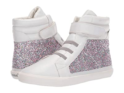 Amiana 15-A5537 (Toddler/Little Kid/Big Kid/Adult) (Silver Glitter) Girl
