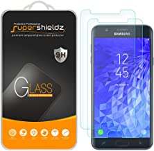 (2 Pack) Supershieldz for Samsung Galaxy J7 (2018) Tempered Glass Screen Protector, Anti Scratch, Bubble Free