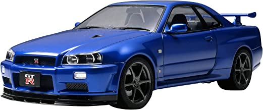 Tamiya Nissan Skyline GT-R R34 V-Spec II 1/24 Scale Model Kit 24258