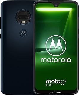 Motorola Moto G7 Plus Single-SIM XT1965 64GB Android 9.0 SIMFree Factory Unlocked 4G/LTE Smartphone - International Version (Deep Indigo/Blue)
